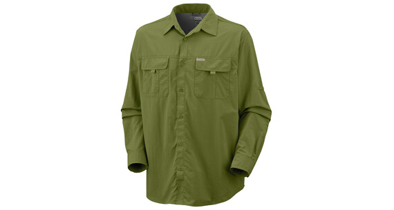 Columbia Silver Ridge LS Shirt grasshopper